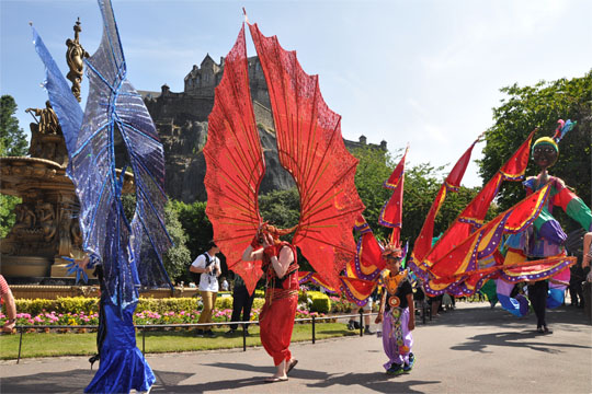 Edinburgh Festival Parade